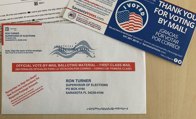 Vote-by-mail ballots for the Nov. 3 general election started going out on Sept. 24; questions for Sarasota County Supervisor of Elections Ron Turner started flooding in shortly thereafter.