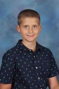 Derek Walz of Topsail Elementary School is Pender County's student of the week