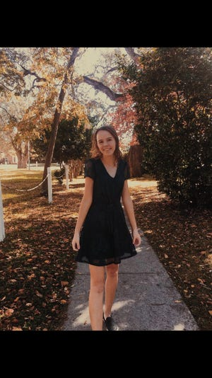Luisa Wren Whalen of South Brunswick High School is Brunswick County's student of the week.