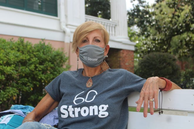 Naydi Nazario, 64, is one of 11 people chosen to be featured in next year's Wilmington 60 Strong calendar.