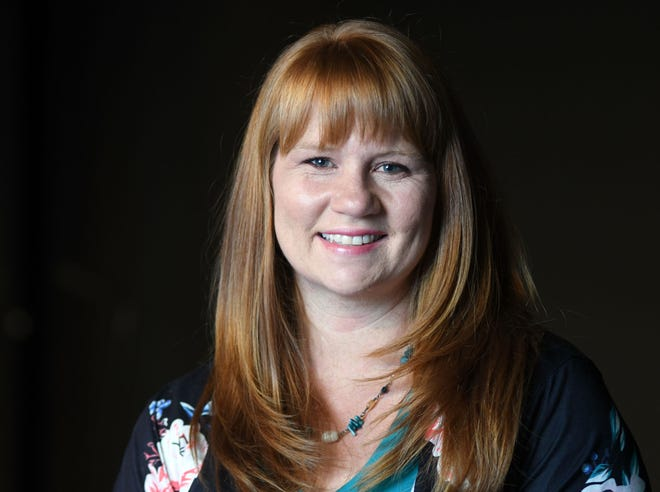 Emma Baltezore, Director of ONE Christian Network at The Refinery Church in Wilmington, N.C., Wednesday, July 22, 2020. Baltezore is one of the 40 Under 40 honorees for 2020.