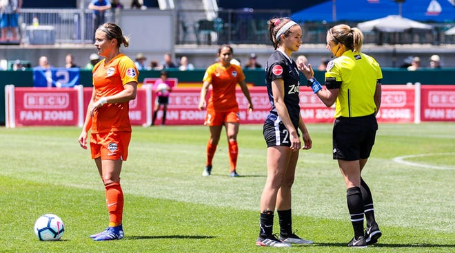 Tori Penso become first female head referee for an MLS game in 20 years Wednesday night.
