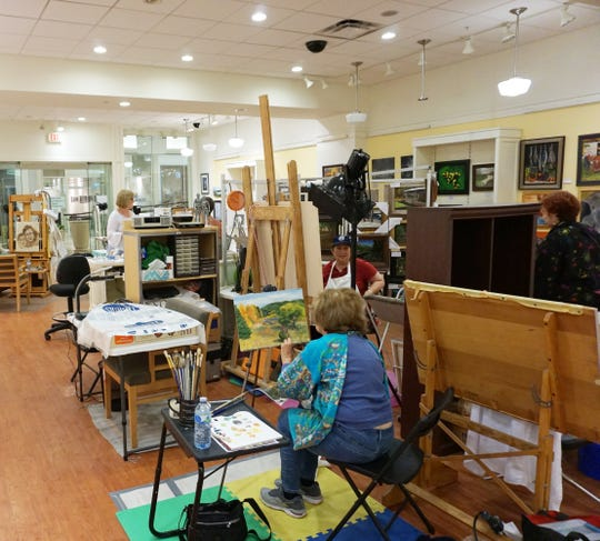 The 2019 Broome Arts Trail featured the Fine Arts Society of the Southern Tier.