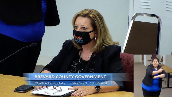 Maria Stahl, Brevard County Health Department, offers an update on the COVID-19 pandemic on the Space Coast during