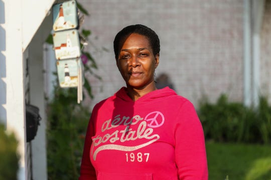 LaJessica Joiner, 39, of Redford Twp., is reentering the workforce after 10 years and is finding it hard to find a job during the Coronavirus pandemic. Joiner says she had to learn how to do everything all over again,10 years ago, after suffering from a chemical imbalance in her pituitary gland that made her depressed.