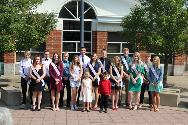 Plymouth-Shiloh Local Schools Homecoming Court: Crown Bearer CeCe Buzard;  Ball Carrier Ace Miller; Girls: 9th Melanee Madera, 11th Kelsey Welch, 12th Allyson Bowser, 12th Halli Hall, 12th Katlin Lewis, 12th Kennady Smedley, 10th Brylie Patrick. Boys:  9th Austin Thompson, 11, Ethan Gillum, 12th Noah Trimmer, 12th Adler Horne, 12th Evan Branham, 12th Jacob Jones, 10th Gavin McClary.