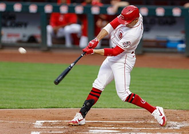 Cincinnati Reds slugger Joey Votto spoke highly of the Milwaukee Brewers' pitching staff.