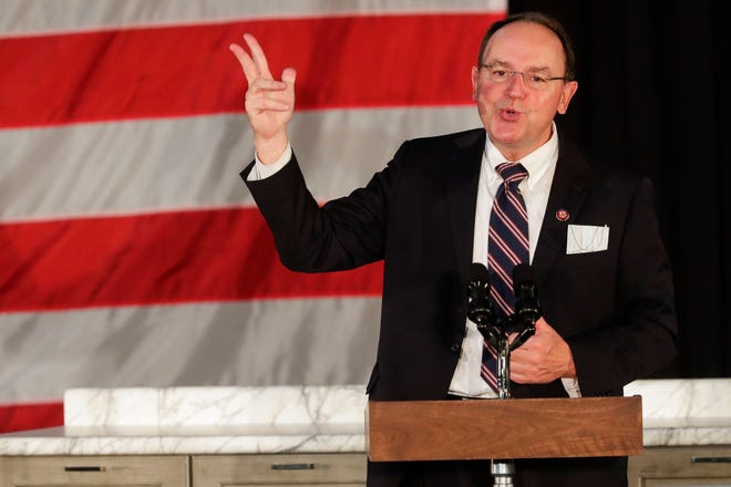 U.S. Rep. Tom Tiffany, a Republican who represents Wisconsin's 7th Congressional District.