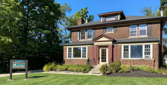 Meridian Health Services recently transformed a house along Wheeling Avenue into its new Women's Recovery Home, which helps women struggling with substance abuse disorders.