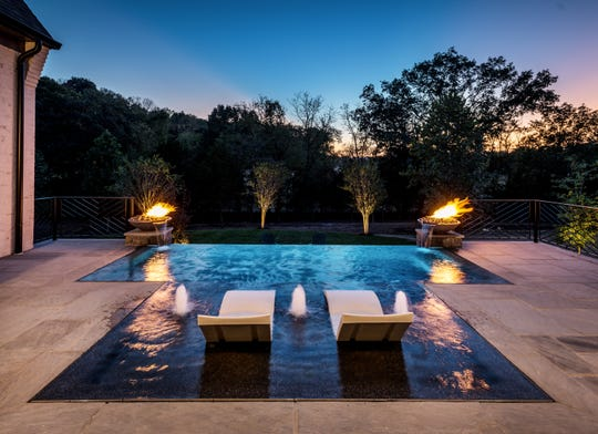In 2020, outdoor living has become a big priority for home owners like this covered porch and pool Legend Homes built for last year's Parade of Homes.