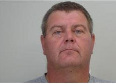 Clinton McElroy, 48 of Ellis County, Kansas. Bloomfield Township police say McElroy sexually exploited an 8-year-old girl by persuading her to send him videos of her in exchange for online currency used in an online game.
