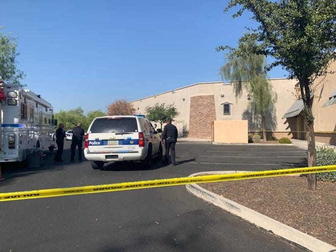 Infant found unresponsive behind south Phoenix business.