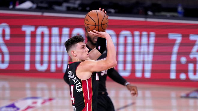 Twitter Reacts To Tyler Herro S Snarl At End Of Heat S Nba Finals Win