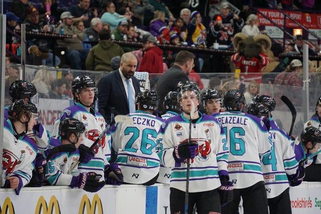 Head coach Jason Campbell and his Shreveport Mudbugs will begin the 2020-21 North American Hockey League season in November.