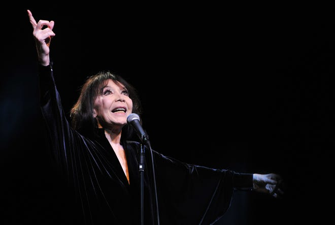 "Juliette Greco, a French singer, actress, cultural icon and muse to existentialist philosophers of the country's post-War period, died at her home in the south of France at 93, French media said on Sept. 23. The mayor of Nice, Christian Estrosi, tweeted that ""a very grand lady, an immense artist has gone."""
