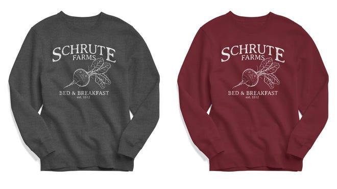 Los mejores regalos para los adolescentes varones: la sudadera de Schrute Farms