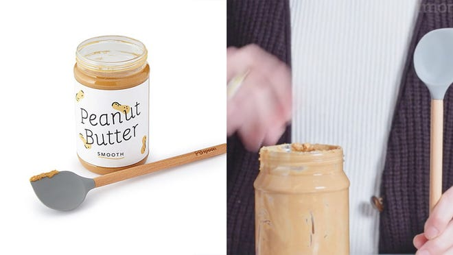 Los mejores regalos para los adolescentes varones: cuchara de mantequilla de maní