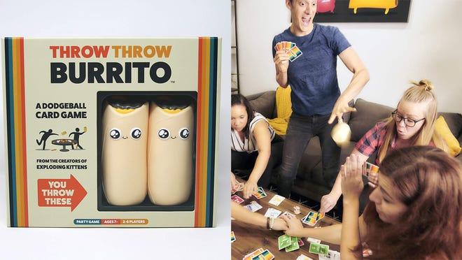 Los mejores regalos para los adolescentes varones: Throw Throw Burrito