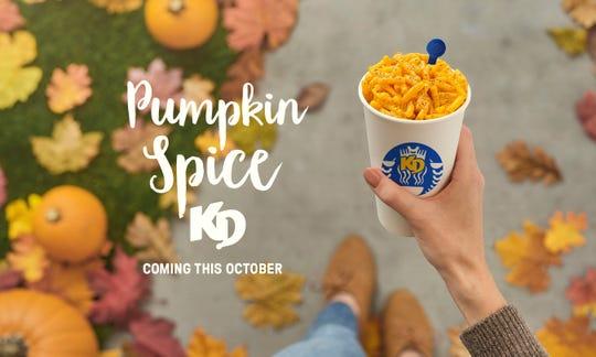 Pumpkin spice Kraft Dinner, anyone?