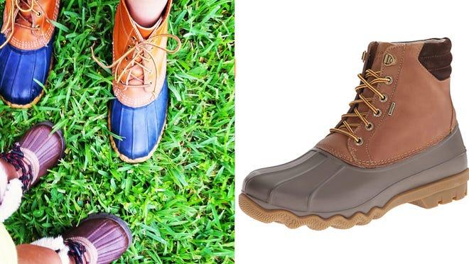 Los mejores regalos para los adolescentes varones: botas de pato