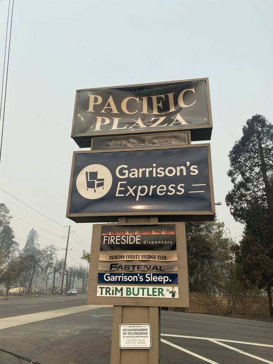 Garrison's Home store sign.