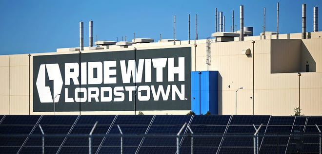 The Lordstown factory building that once manufactured General Motor's Chevy Cruze is now home to Lordstown Motors.