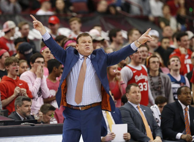 Illinois men's basketball coach Brad Underwood said he used free time during the pandemic to improve his diet and fitness.