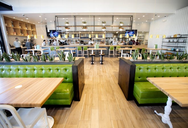 True Food Kitchen has opened in Easton Town Center, with a menu focused on healthy options. [Courtney Hergesheimer/Dispatch]