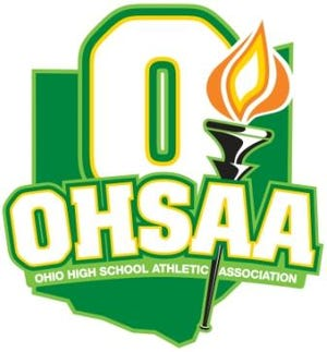 A file photo of the Ohio High School Athletic Association logo.