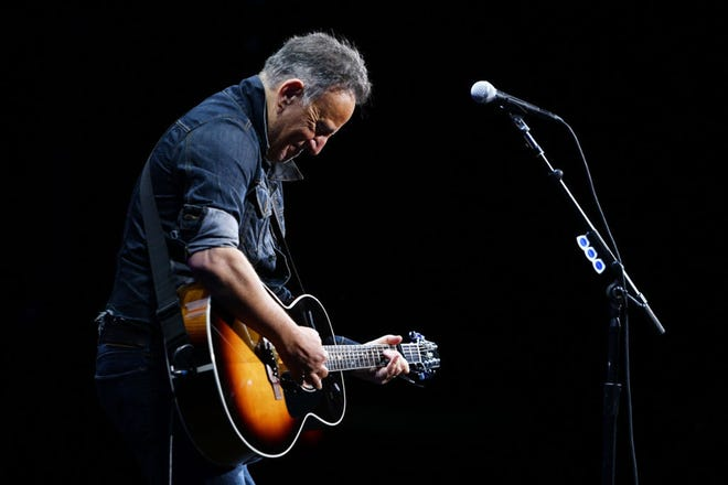 Bruce Springsteen during a 2019 performance in New York City