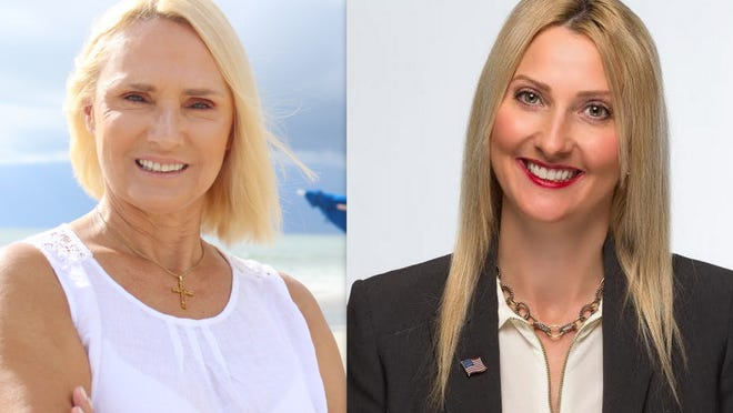 Incumbent Heather Post, right, is facing a challenge to the Volusia County Council District 4 seat by Daytona Beach business owner and Ormond Beach resident Barbara Bonarrigo, left.