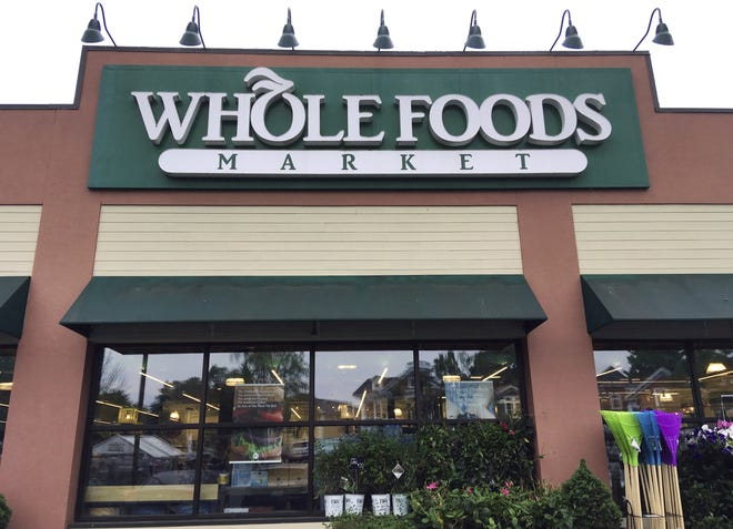 Whole Foods Market will open its new 40,000- square-foot store at 2050 S. 3rd St.  in Jacksonville Beach, at 7 a.m. on  Oct. 7. Pictured is the store in Andover, Mass.