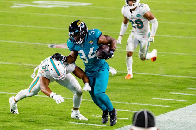 Jaguars activated Chris Thompson off the COVID-19 list on Friday. Matt Pendleton/Special to the Times-Union