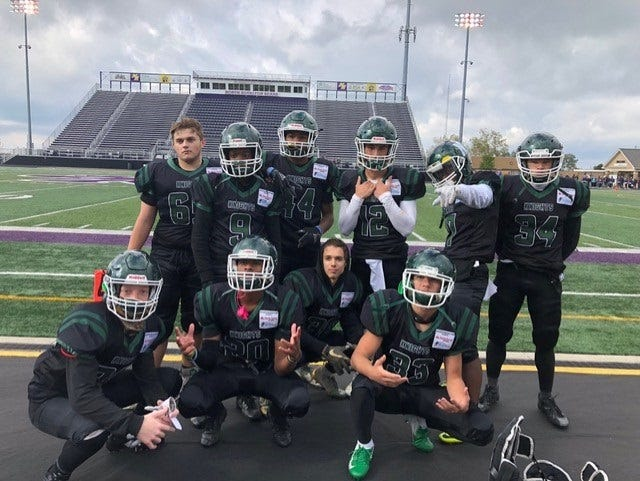 """Safe Decisions Week culminates Oct. 2 at 7 p.m. when the Knights will wear their custom Safe Decisions Week """"Black-Out"""" uniforms when they play Stow-Munroe Falls High School."""