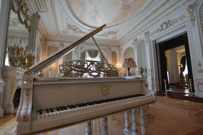The Steinway Model B piano, which belonged to Henry Flagler's wife, Mary Lily, will be played by a professional musician on Tuesdays during the Flagler Museum's live organ and piano demonstrations.