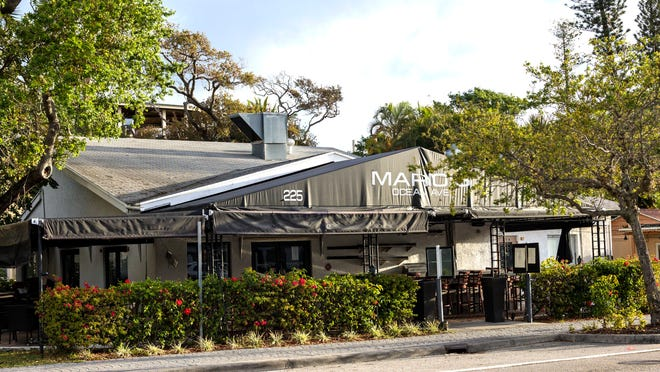 Mario's restaurant, in a small shopping area on the north side of East Ocean Avenue in Lantana between N. Oak Street and N. Lake Drive Wednesday, March 11, 2020.     [LANNIS WATERS/palmbeachpost.com]