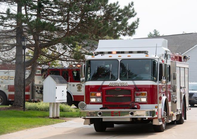 Aurora fire truck