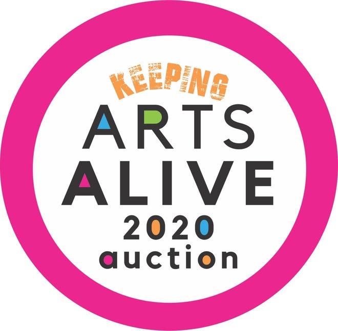 Arts Alive Auction logo