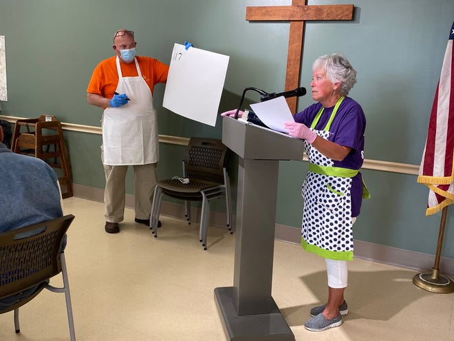 Paul and Linda Snyder are volunteers at the Refuge of Hope shelter in Canton. (Provided photo)