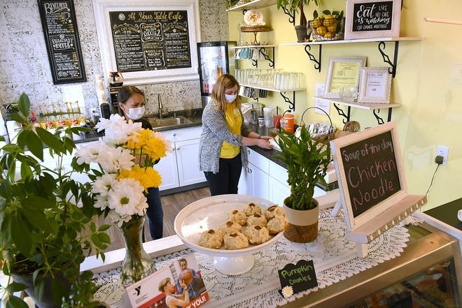 Working through its first year, At Your Table Cafe & Catering found a booming takeout business during COVID-19. As a result, it added Thursday night dining to go with its breakfast and lunch offerings.