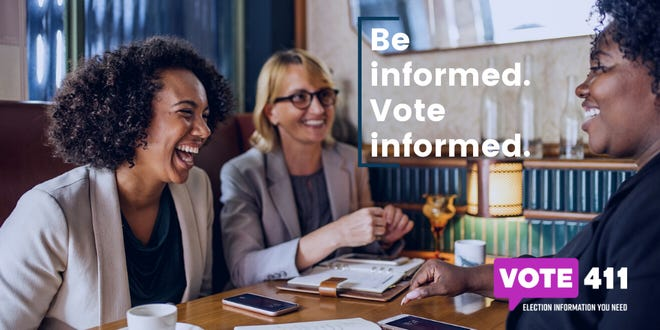 VOTE411.org is a nonpartisan information website from the League of Women Voters.