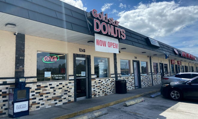 Gold Star Donuts at 1246 Whitfield Ave. has found a way to reopen — three years after Hurricane Irma ripped off its roof.
