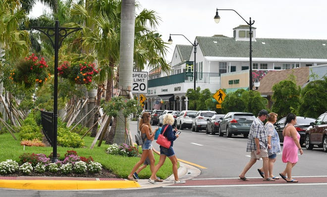 The reconstruction of Miami, Venice and Tampa avenues in Venice's downtown core was part of an $18 million road bond approved by voters in 2016.