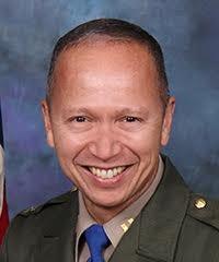 CHP Yreka Area Commander Captain Richard A. Mendez