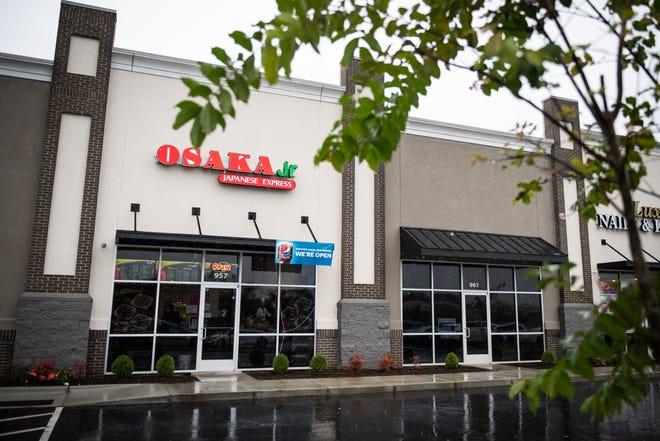 Osaka Jr. Japanese Express restaurant has opened at 957 Strickland Bridge Road in Fayetteville.