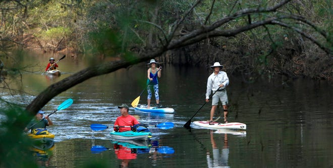 Paddlers enjoy the Santa Fe River, which features a multitude of significant springs that will be further protected by the $11 million purchase of nearby land.