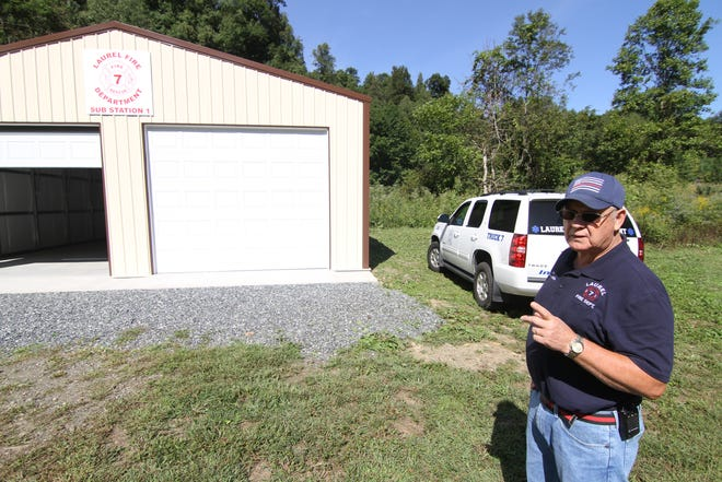Chief Emerson Franklin of the Laurel Fire Department called existing the emergency radio communications infrastructure in Madison County 'a bunch of junk' and stressed the need for investment in upgrades in remarks to commissioners Sept. 22.