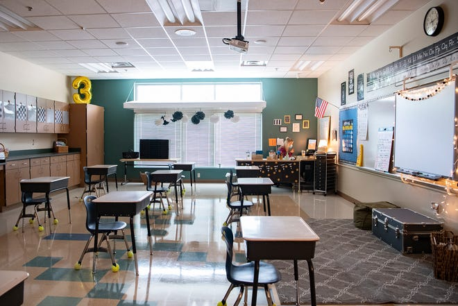 Buncombe County Schools' student population has been declining for six years, report shows.