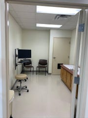 Here's a look inside the new Mercy Health center at Clermont Northeastern High School.