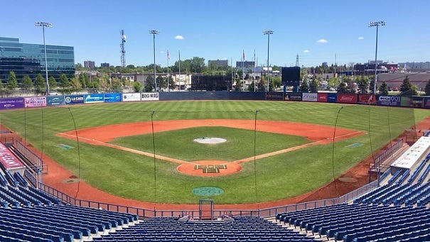 Ottawa, which plays in RCGT Park, will become the third Canadian team in the Frontier League.
